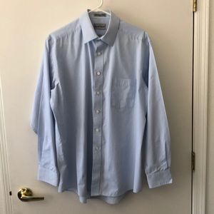 David Taylor Long Sleeve Dress Shirt Size 16 GUC